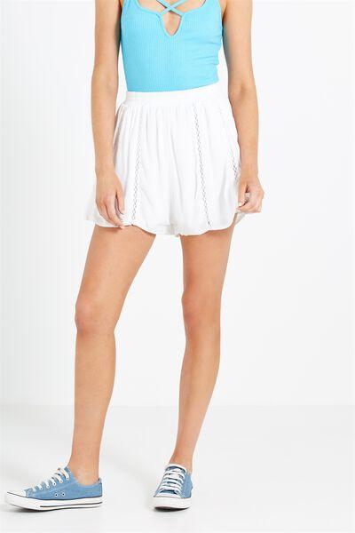 Willa High Coord Short, WHITE