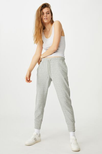 Your Favourite Track Pant, GREY MARLE