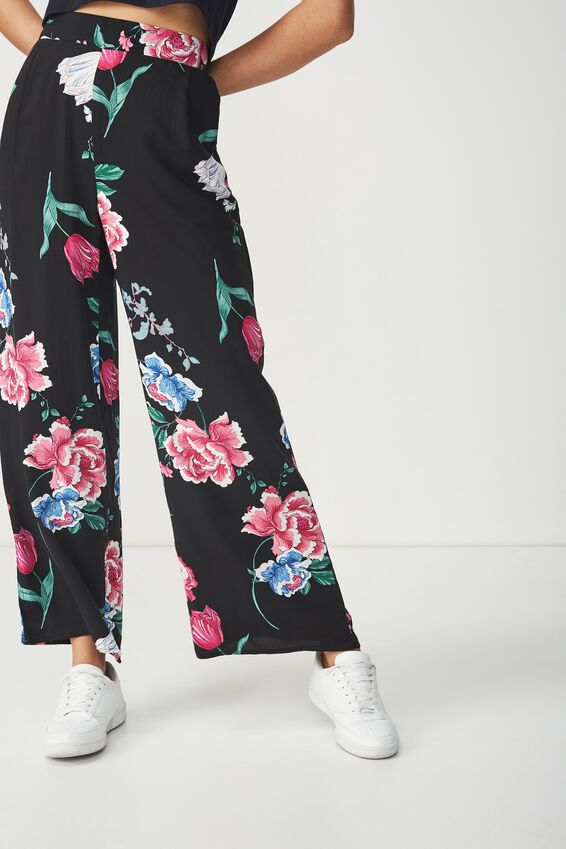 Wide Leg Pant, PENNY PINK