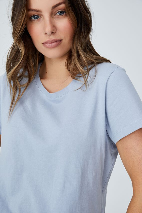 The One Crew Tee, NEW WAVE BLUE