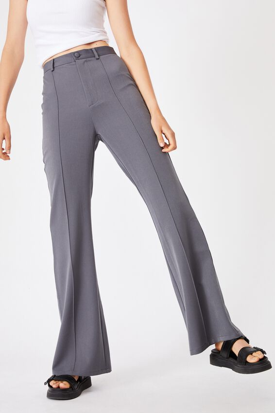 Bowie Flare Pant, CHARCOAL