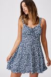 Woven Sandy Skater Dress, SOPHIE DITSY MIDNIGHT FESTIVAL