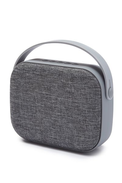 Fabric Wireless Speaker, PALE GREY