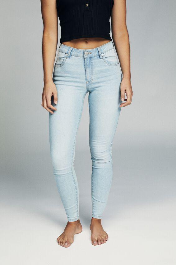 Mid Rise Skinny Jean, BROOKLYN BLUE