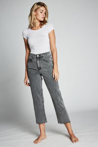Straight Leg Jean, ULTRA WASH BLACK