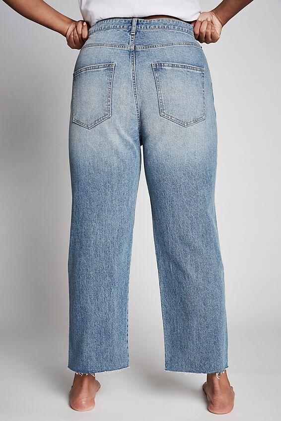 Curve Millie Straight Leg Jean, CALI BLUE