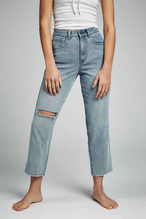 Straight Leg Jean, DALLAS BLUE