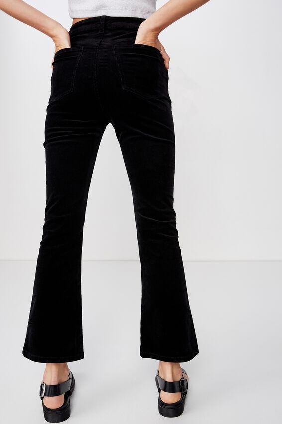 Cord Grazer Flare, BLACK