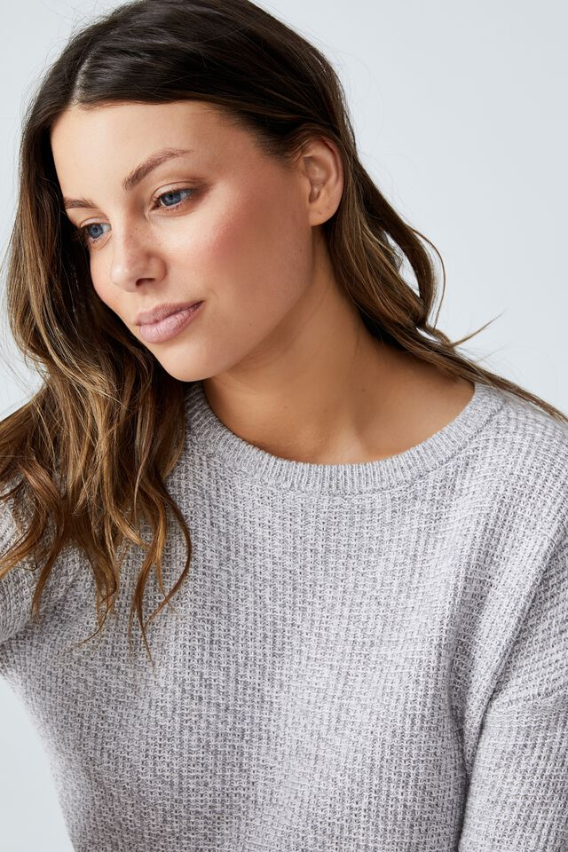 Everyday Pullover, ZODIAC GREY WHITE TWIST