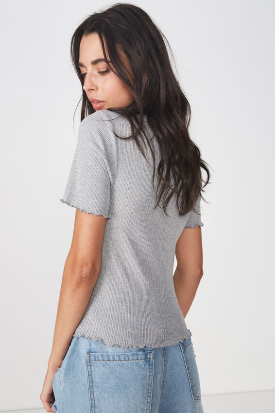 The Sister Short Sleeve Tee, GREY MARLE