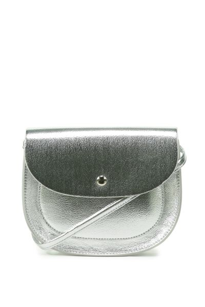 Taylor Cross Over Bag, SILVER