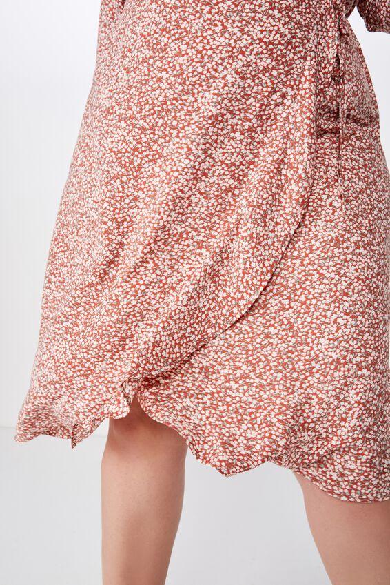 Curve Woven Willow Wrap Midi/Maxi Dress, ISSY DITSY BRUSCHETTA