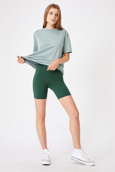 The Pip Jersey Bike Shorts, VINTAGE GREEN