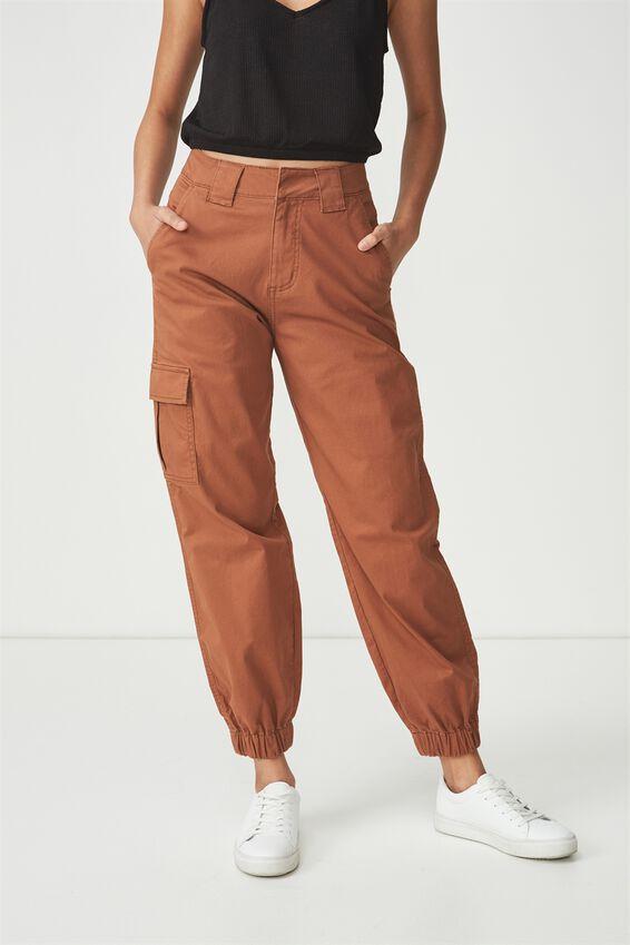 Carla High Waist Utility Pant