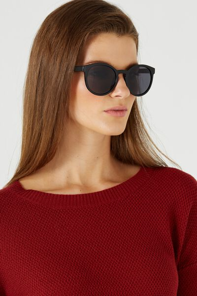 Rollin Round Sunglasses, BLACK