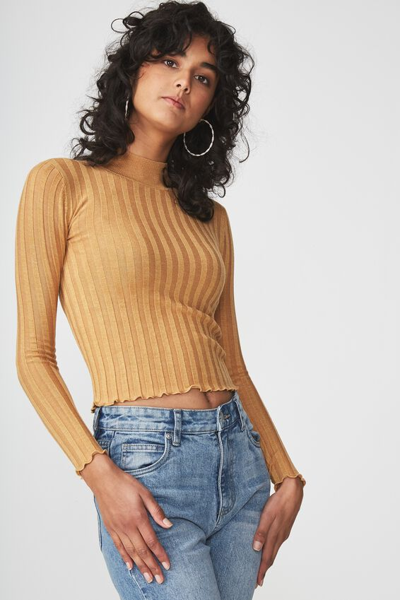 Quinny 2 Close To The Body Rib, SPRUCE YELLOW MARLE