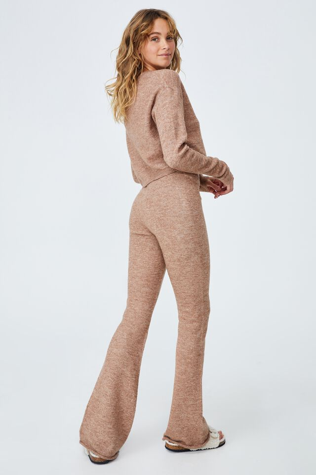 Recycled Match Back Straight Leg, COCOA BEAN MARLE