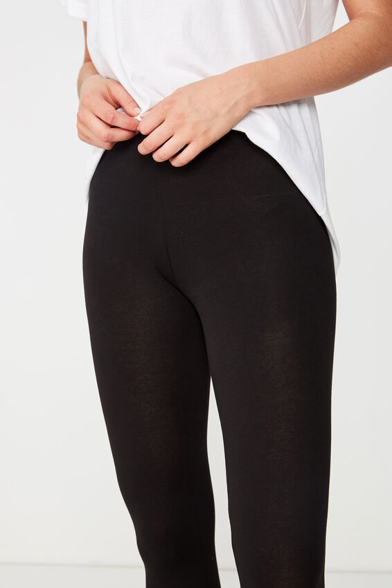3/4 Dylan Legging, BLACK