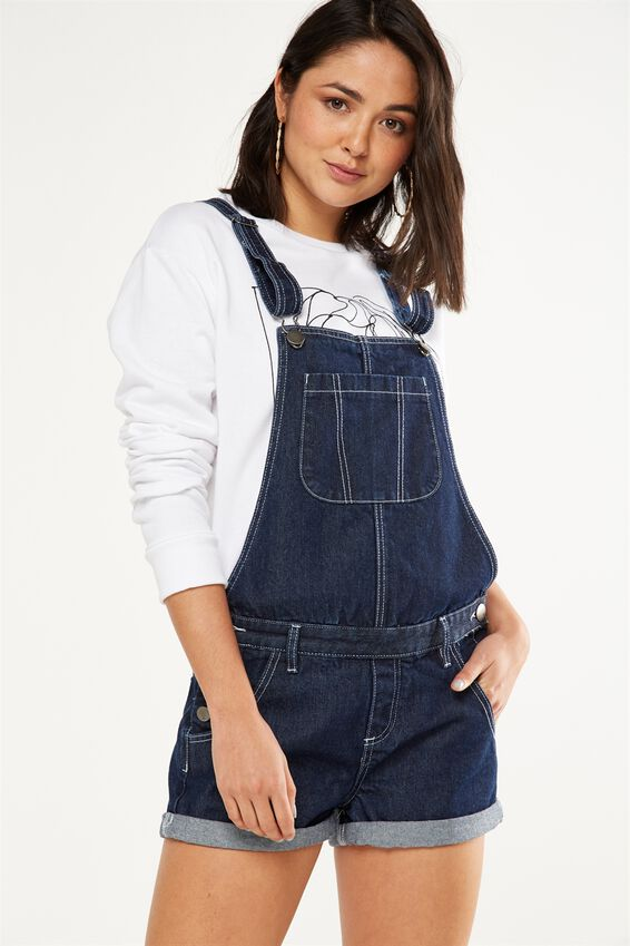 The Classic Denim Overall, DARK RINSE