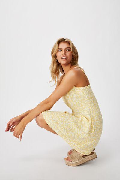 Woven Kendall Mini Dress, TAYLAH DITSY SUNDRESS