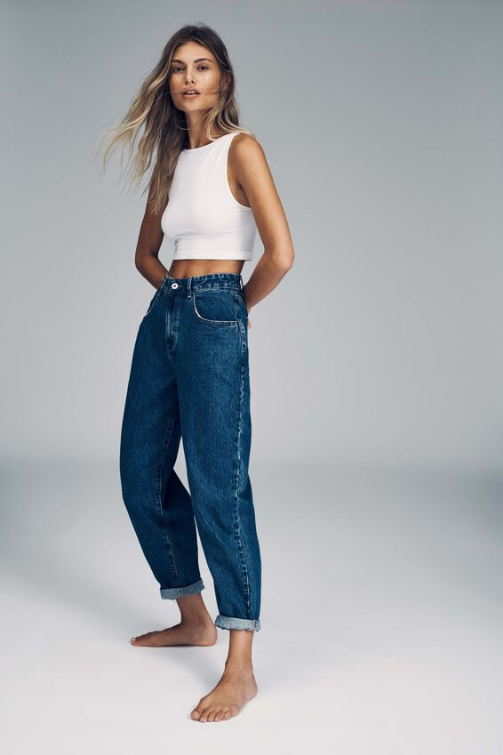 Slouch Mom Jean, COOGEE BLUE