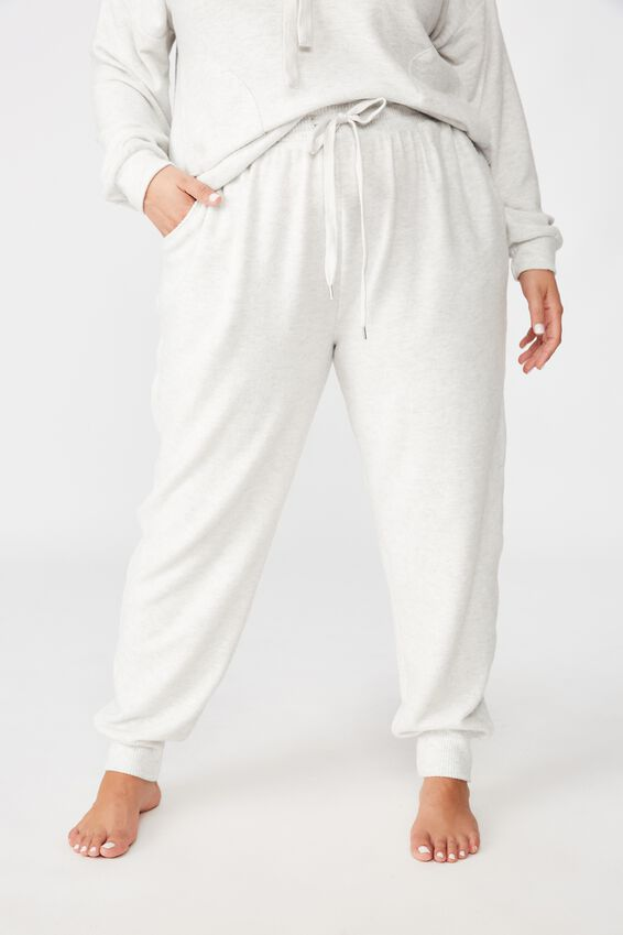 Curve Super Soft Slim Fit Pant, SOFT GREY MARLE