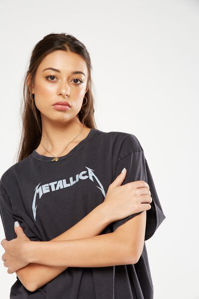 The Graphic Boyfriend Tee, LCN METALLICA/BLACK