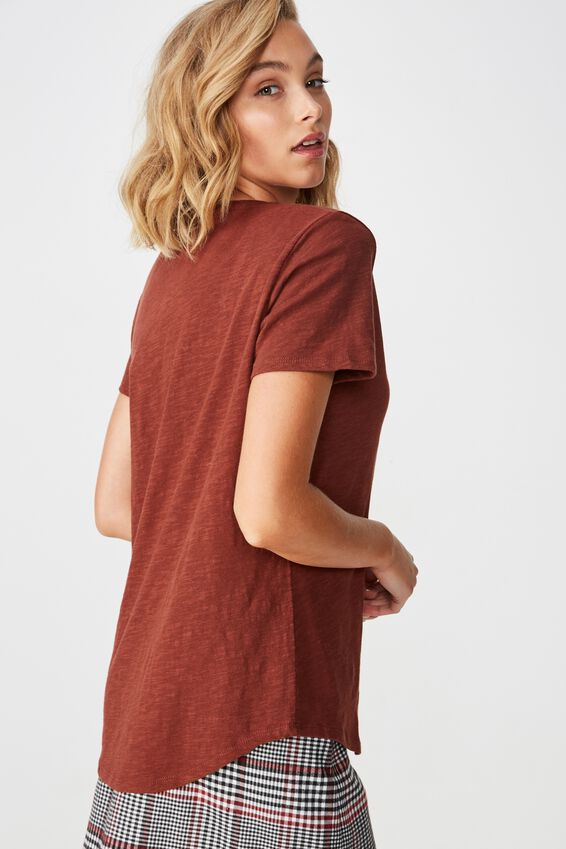 The Deep V, CHERRY MAHOGANY