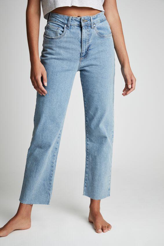 Straight Stretch Jean, LAGUNA BLUE