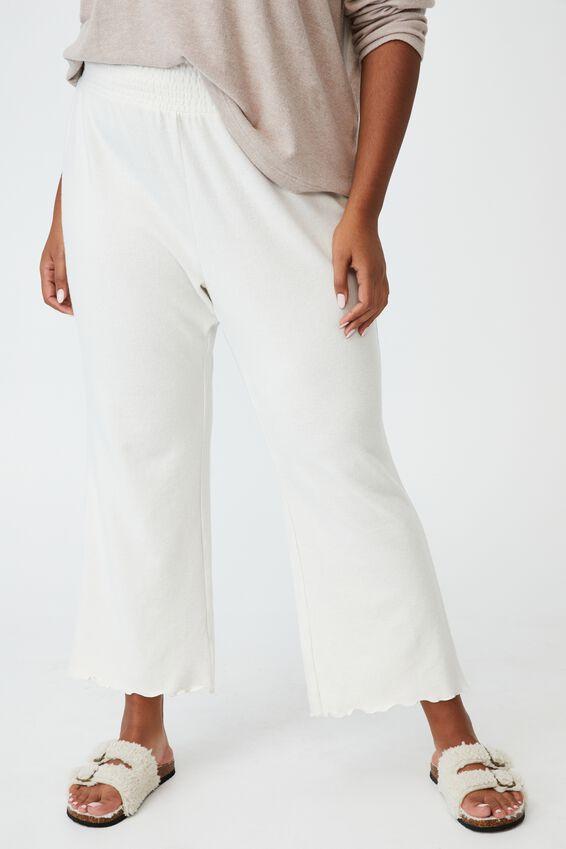 Curve Super Soft Lounge Pant, OATMEAL MARLE
