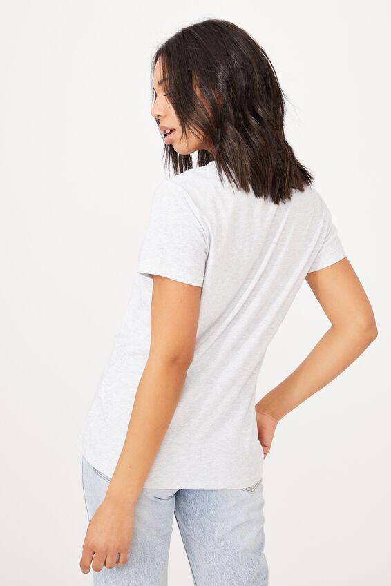 Classic Arts T Shirt, GROW/SILVER MARLE
