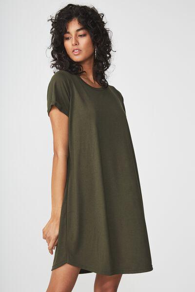 Tina Tshirt Dress 2, DEEP DEPTHS