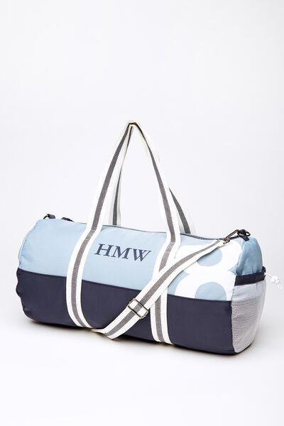 Co Barrel Bag, BLUE/NAVY