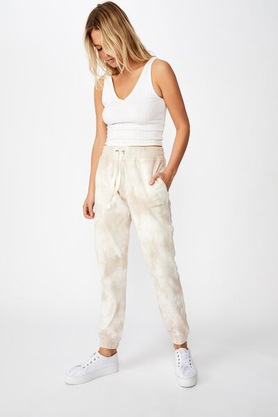 Slim Fit Trackpant, NATURAL TIE DYE