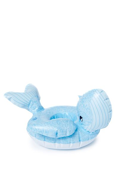 Inflatable Cup Holder, PAISLEY WHALE