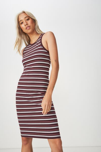 Lena Midi Dress, HARRY STRIPE WINETASTING