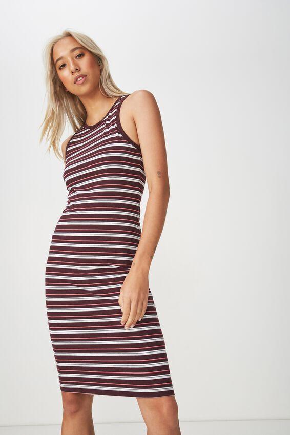 Lena Midi Dress, HARRY STRIPE WINETASTING