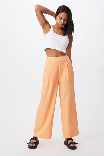 Wide Leg Paradise Pant, ICY APRICOT