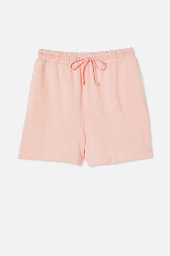 Clubhouse Short, SUGAR PINK PIGMENT GARMENT DYE