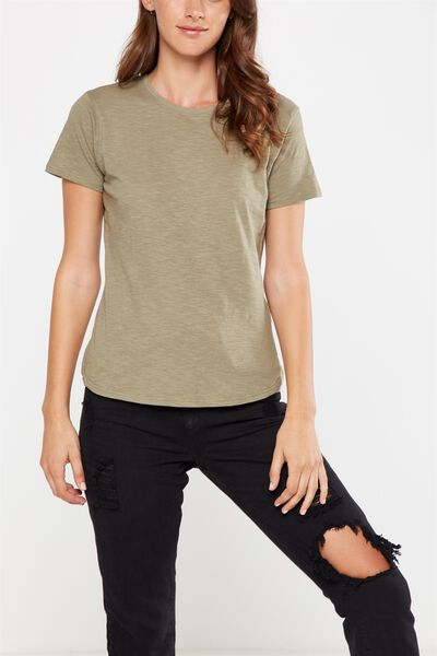 The Crew T Shirt, SOOT
