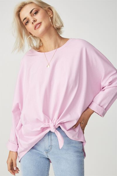 Shelby Oversized Top, PINK LAVENDER