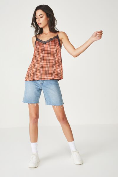 3da607ed42b Classic Stretch Denim Mini Skirt