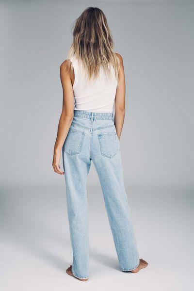 Long Straight Jean, ADDIS BLUE