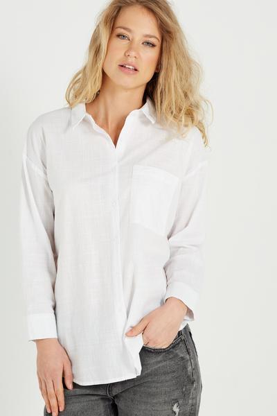 Millie Shirt, WHITE