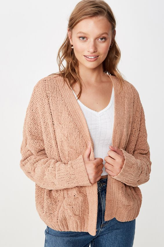 Chantelle Chenille Cardi by Cotton On
