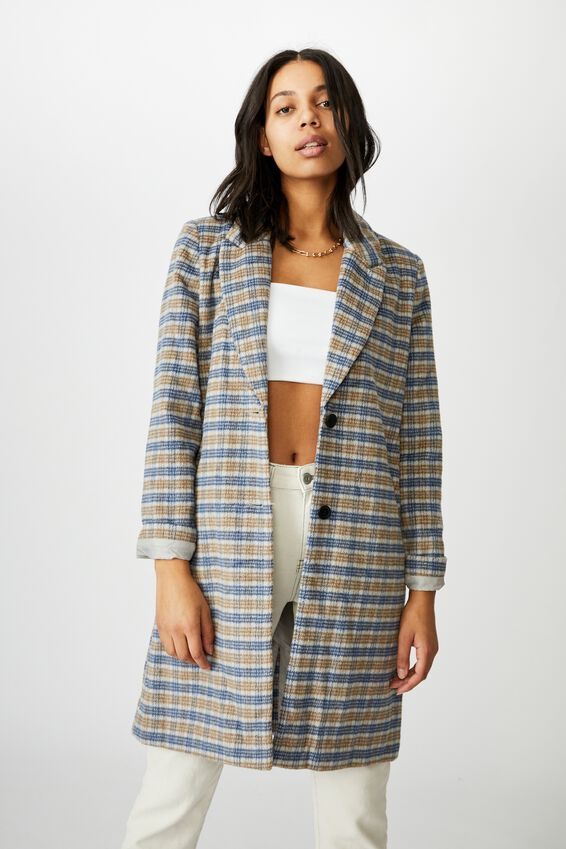The Coat, BLUE CHECK