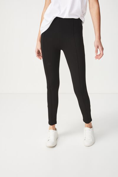 Dantea Legging, BLACK SOLID