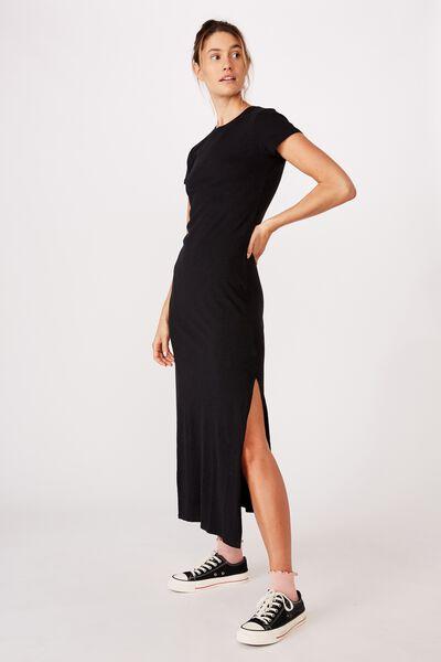 Marcia Maxi Dress, BLACK