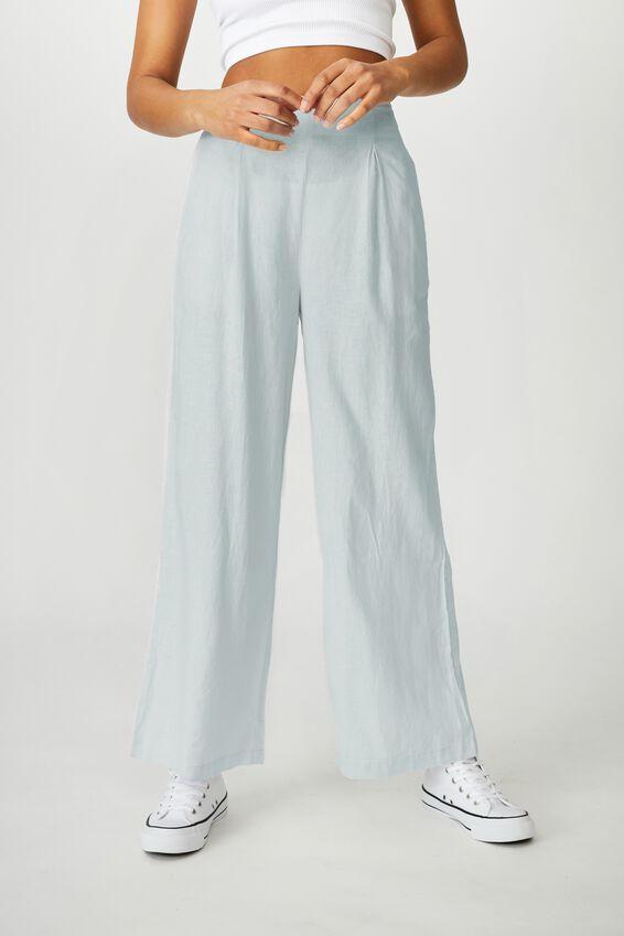 Wide Leg Paradise Pant, PALE BLUE