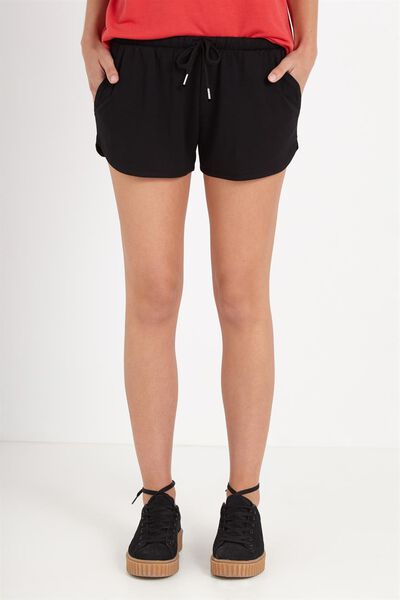 Sporty Short, BLACK